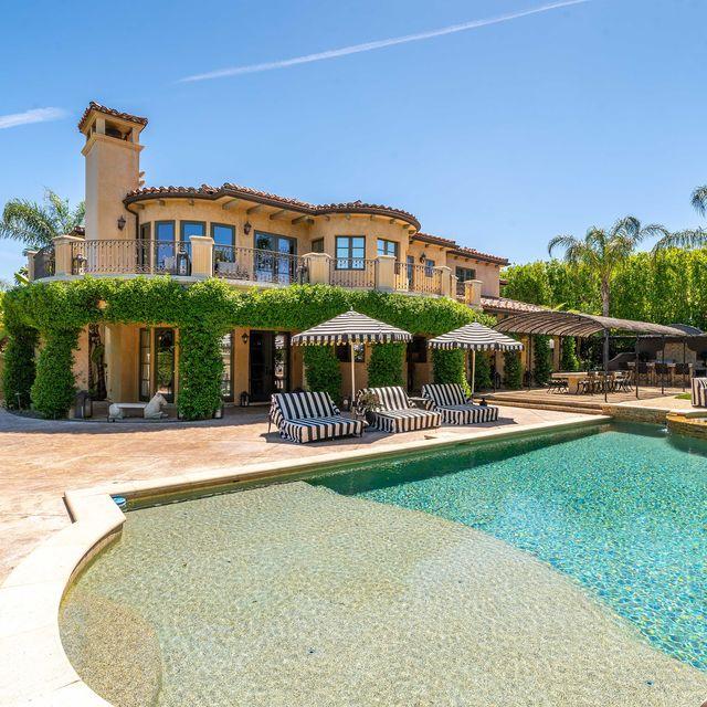 Villa de Kaley Cuoco en California