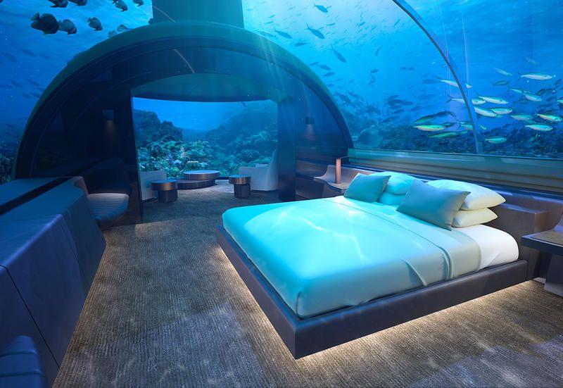 La villa sottomarina alle Maldive The Muraka