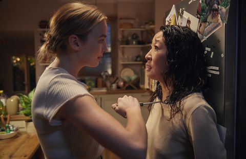 Killing Eve Jodie Comer and Sandra Oh