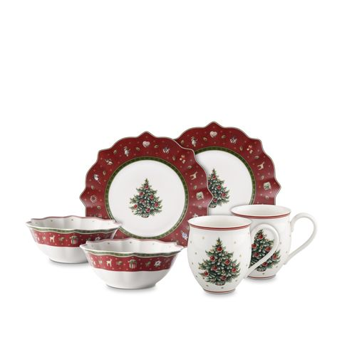 villeroy and boch christmas porcelain set