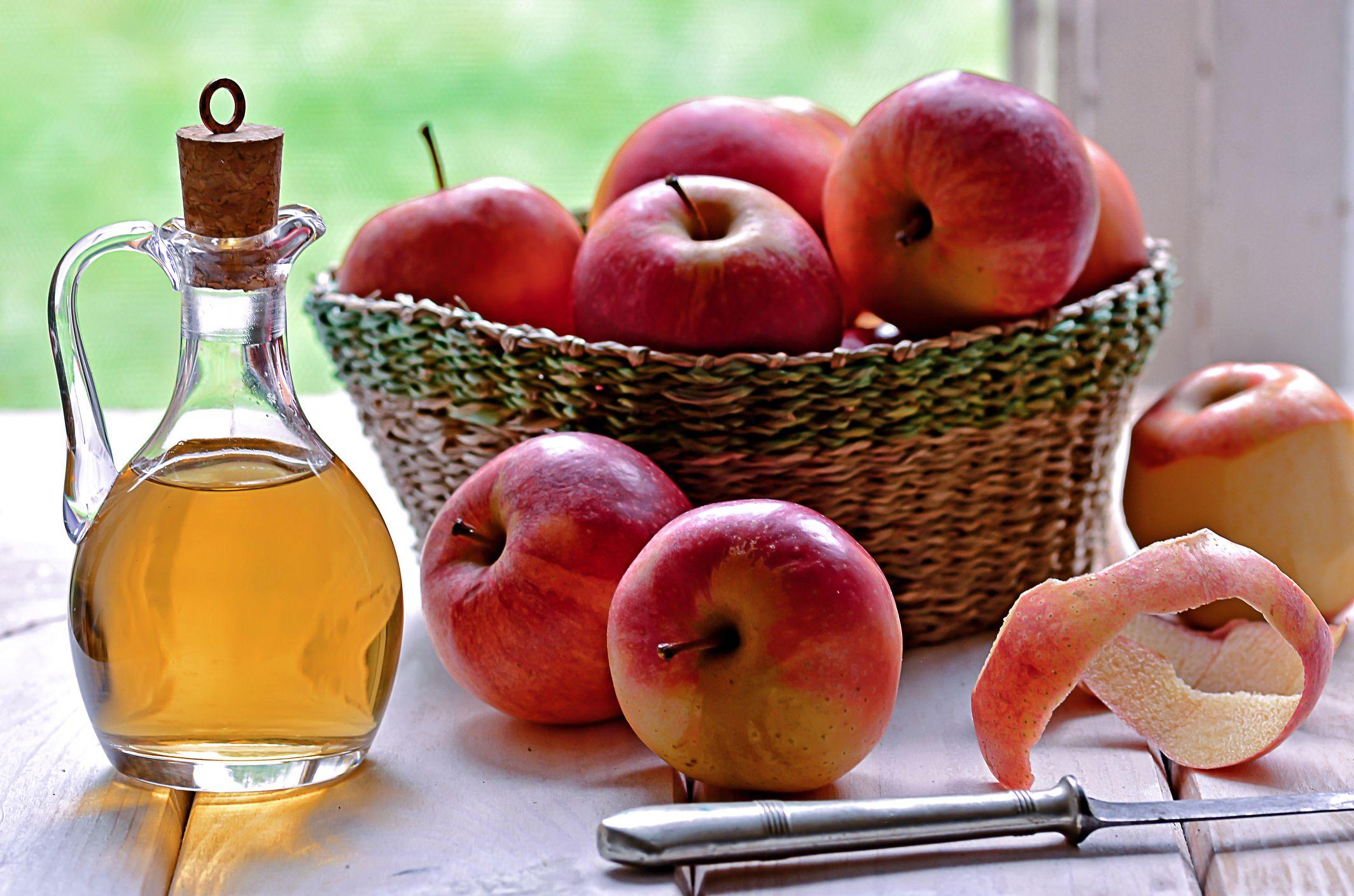 Cuanto debo tomar de vinagre de manzana para adelgazar