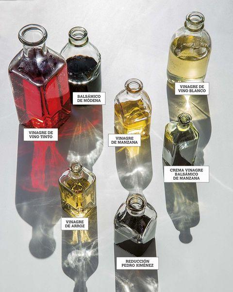 Variedades de vinagre
