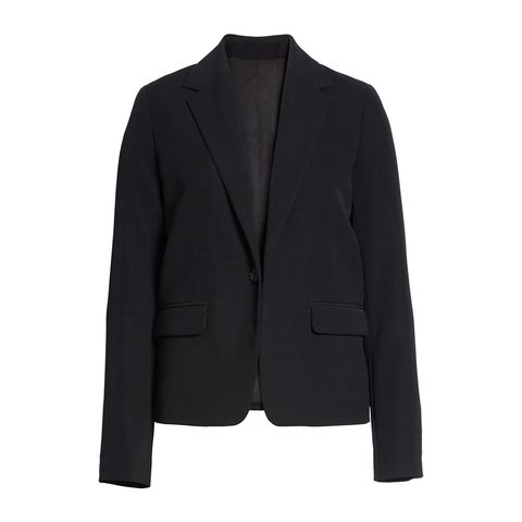 vince black blazer