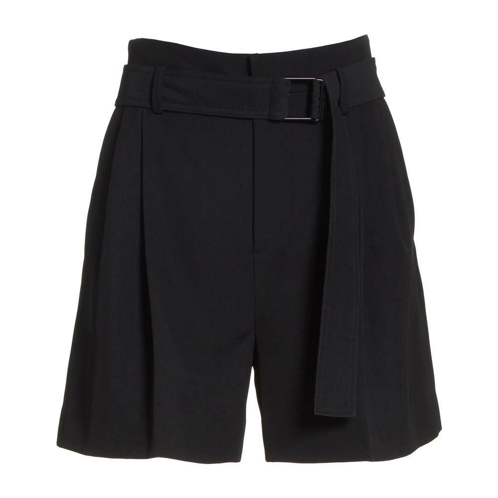 vince black shorts