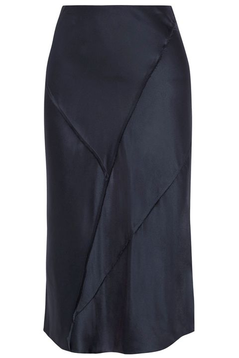 f00fdbb7a 15 best slip skirts to buy now – Silk skirts to wear this summer