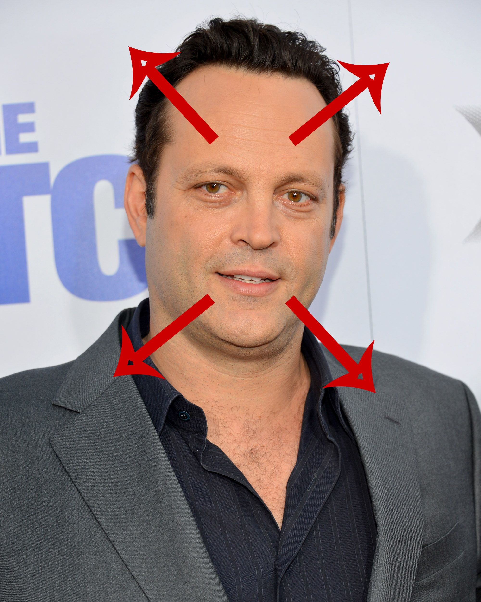vince vaughn, vince vaughn big face, vince vaughn big head, big head actor, big face actor, big face man, big head man