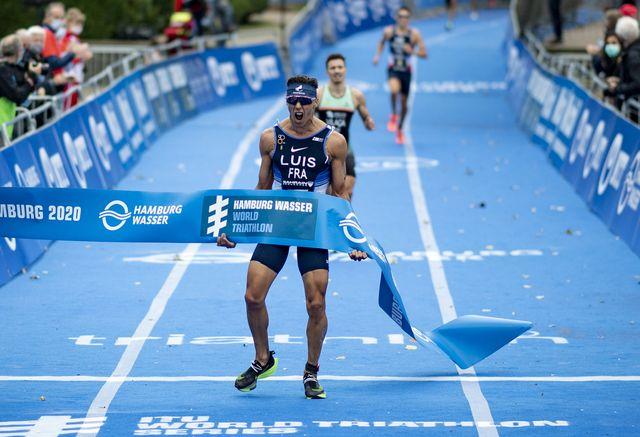 vincent luis se corona campeón del mundo de triatlón 2020 en hamburgo itu world triathlon series   world championship