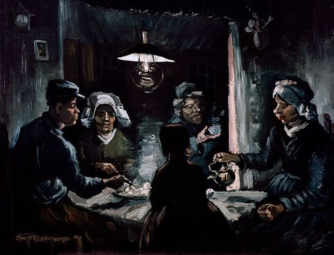 Study for the Potato Eaters by Vincent van Gogh