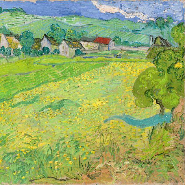 Les Vessenots en Auvers, deVincent van Gogh