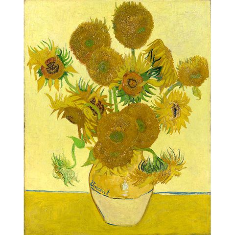 Vincent Van Gogh- Sunflowers, Stretched Canvas