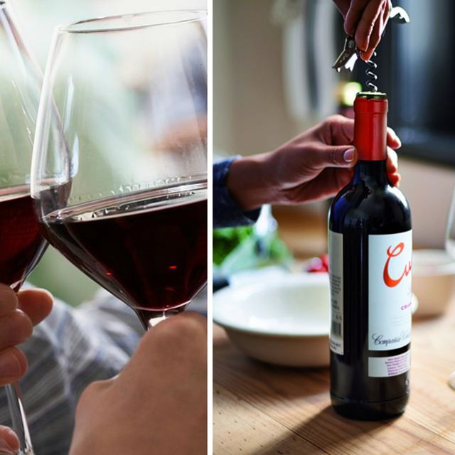 Bottle, Alcohol, Drink, Wine bottle, Wine, Barware, Alcoholic beverage, Liqueur, Red wine, Glass bottle,