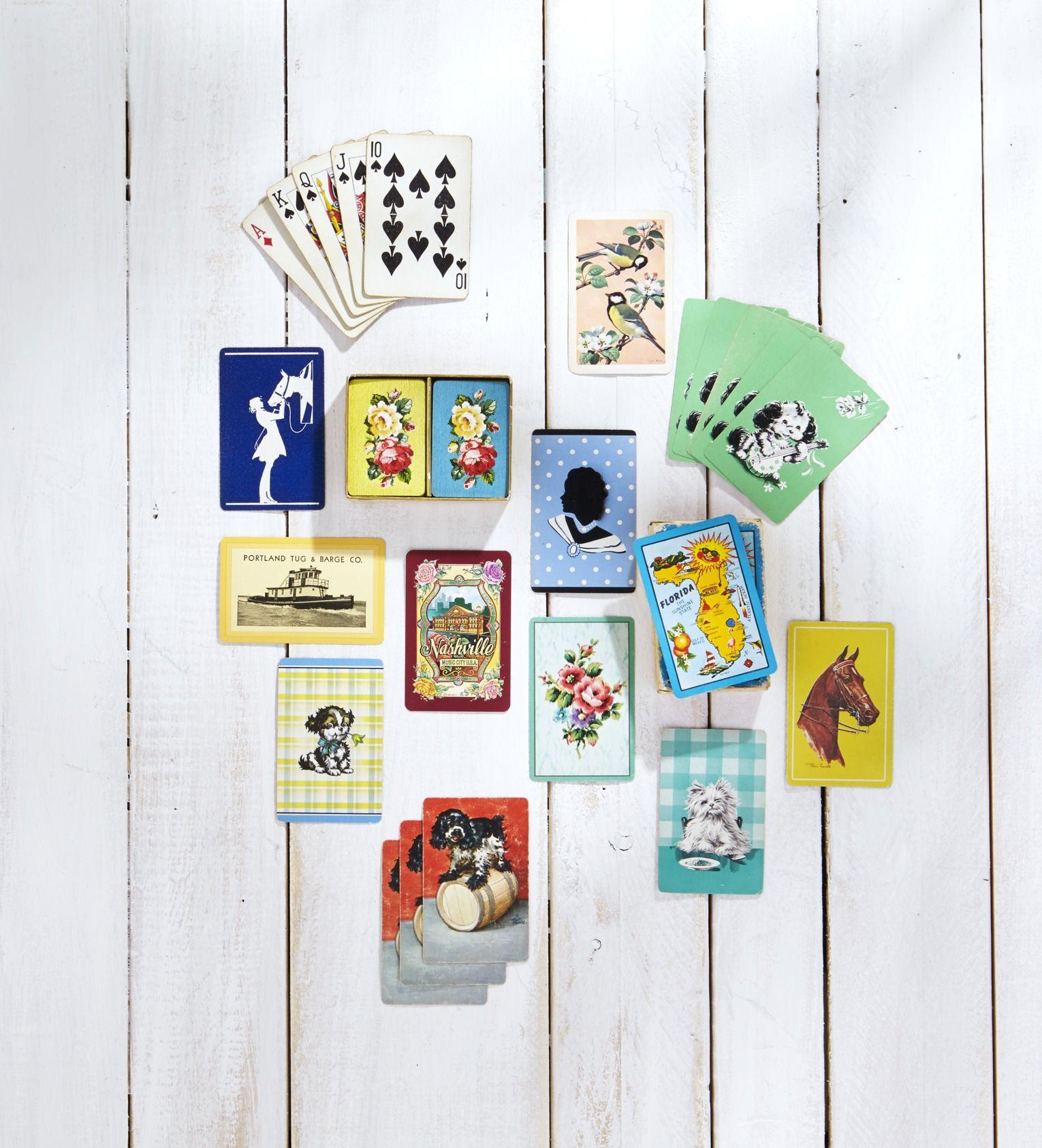 card games backyard bbq party idea