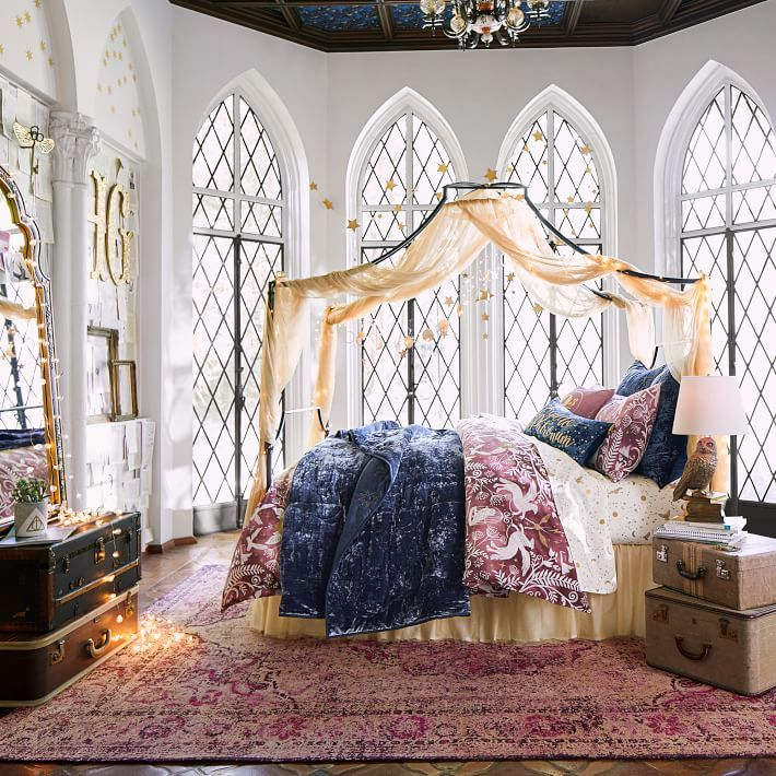harry potter bedroom decor pbteen launches harry potter d 233 cor collection 15529