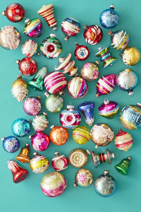 vintage shiny brite christmas ornaments