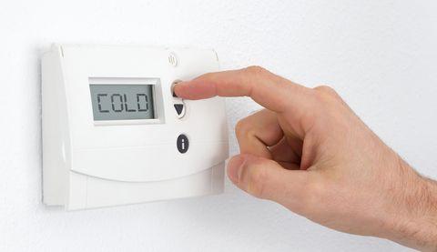 Vintage digital thermostat - Cold