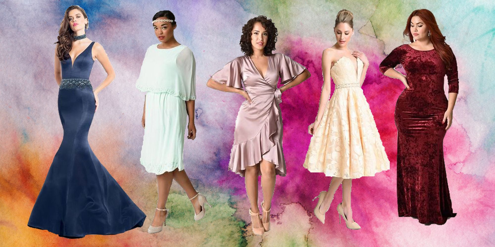 Vintage Look Prom Dresses