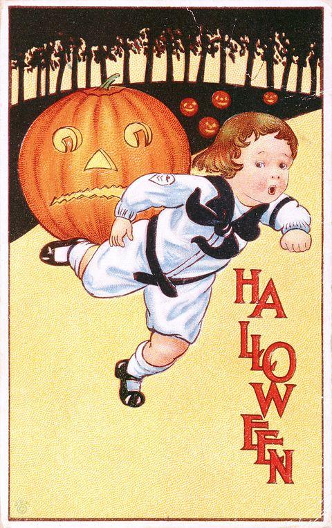 vintage halloween 1918