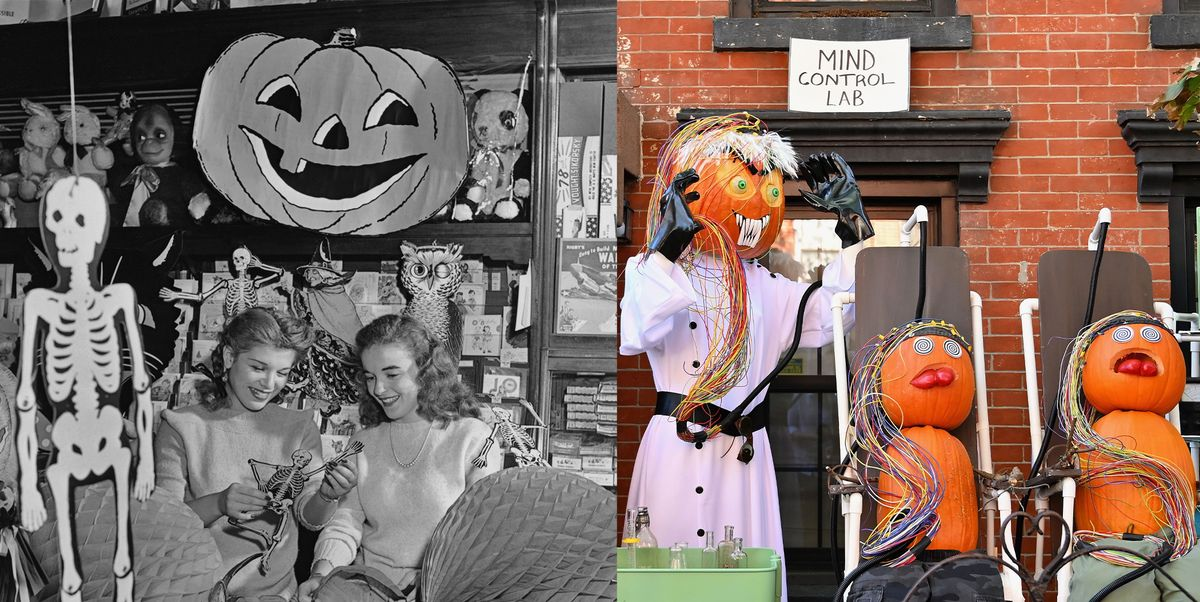 23 Vintage Halloween Decorations That May Inspire This Year's Decor