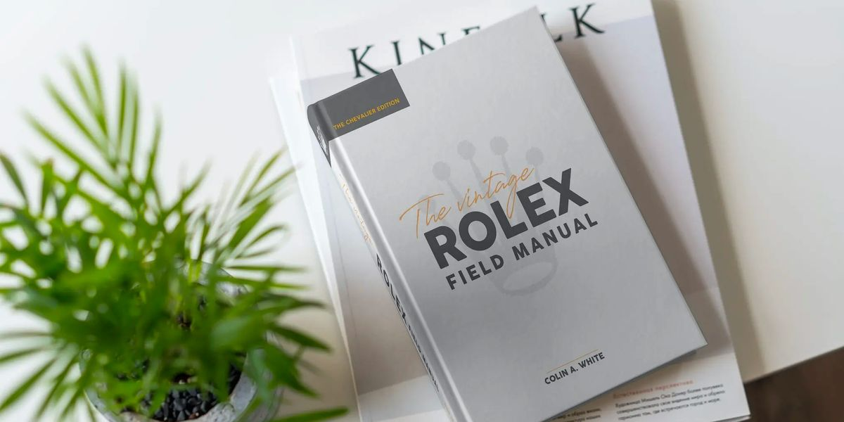 Add This Vintage Rolex Book To Your Library Right Now