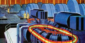1950s Nuclear Fusion Reactor