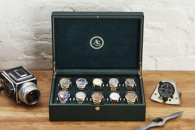 as x wolf 10 piece watch box