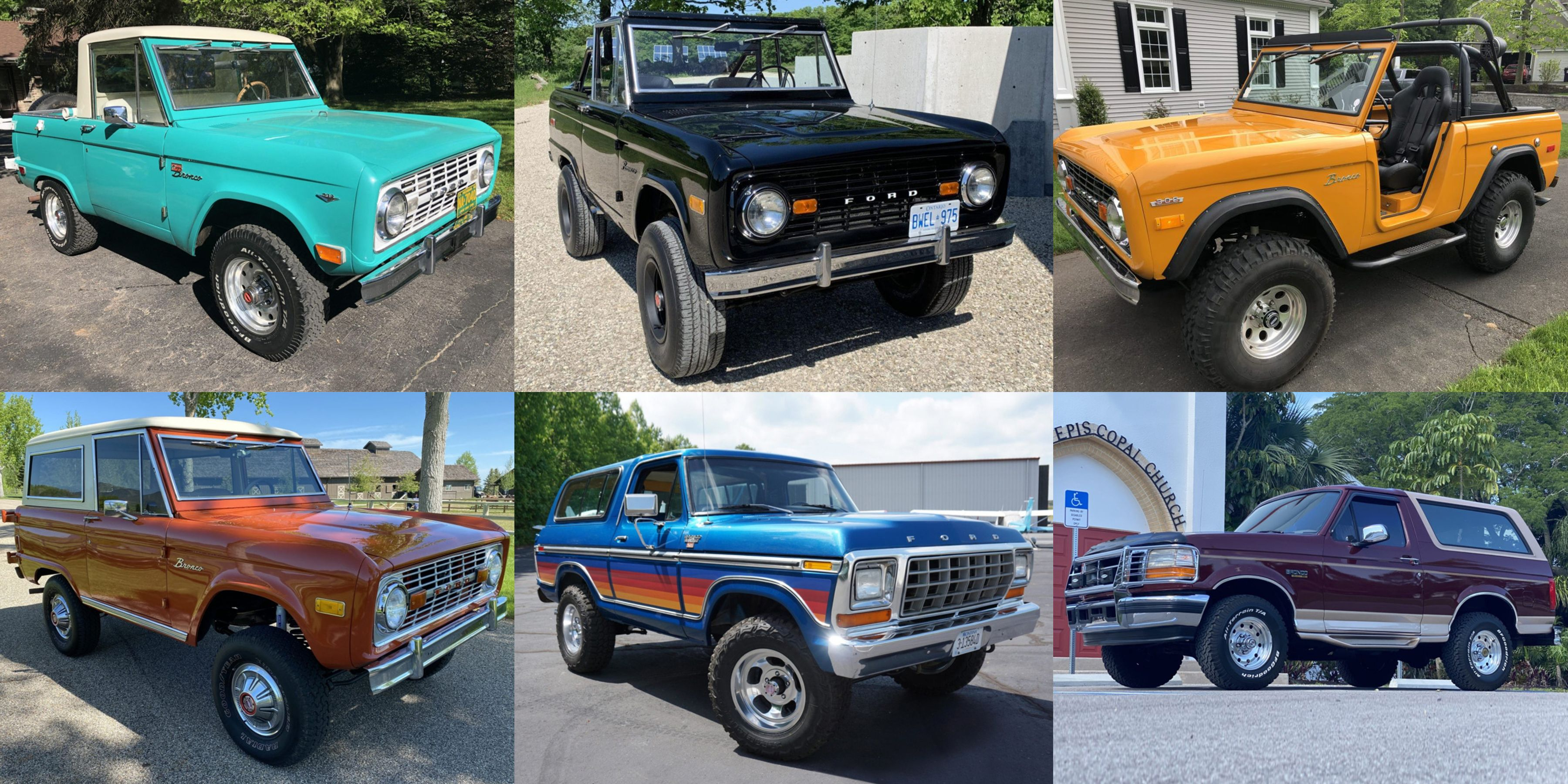10 Vintage Ford Broncos To Curb Your Appetite