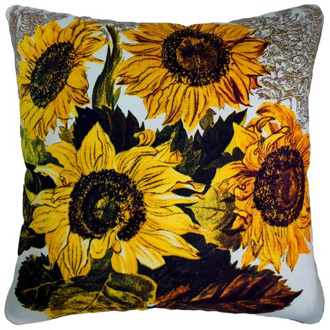 Sunflowers-themed homewares