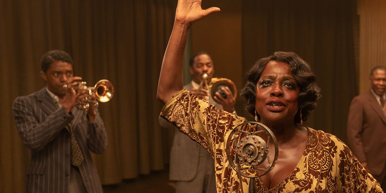 Viola Davis on Ma Rainey's Black Bottom Co-star Chadwick Boseman