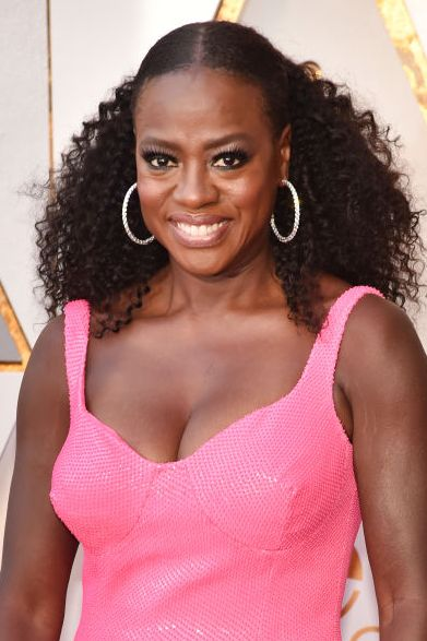 Viola Davis Hair 90th Annual Academy Awards - Arrivals