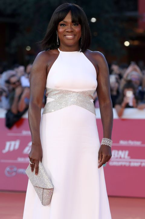 Viola Davis Red Carpet - 14th Rome Film Fest 2019