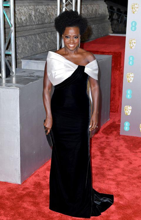 Viola Davis,EE British Academy Film Awards - Red Carpet Arrivals