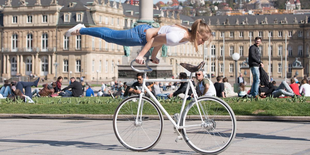 Electric Mountain Bike >> Stunt Cycling - Viola Brand Artistic Cycling