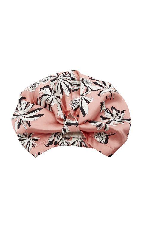Clothing, Pink, Turban, Hair accessory, Headgear, Fashion accessory, Headband, Outerwear, Swimwear, Peach,