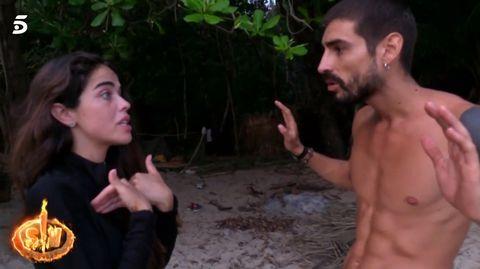 Violeta Mangriñán comienza a dudar de su relación con Fabio Colloricchio