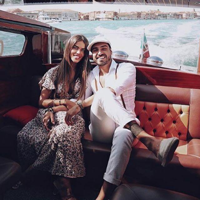 Fabio Colloricchio, Violeta Magrañin, Instagram, rede sociales
