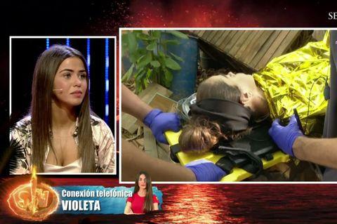 Violeta Mangriñán sigue apartada de 'SV' por sus problemas de salud