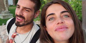 Violeta Mangriñán y Fabio Colloricchio de vacaciones en Ibiza