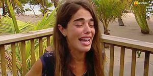 Violeta, forzada a abandonar Supervivientes por sus problemas de salud