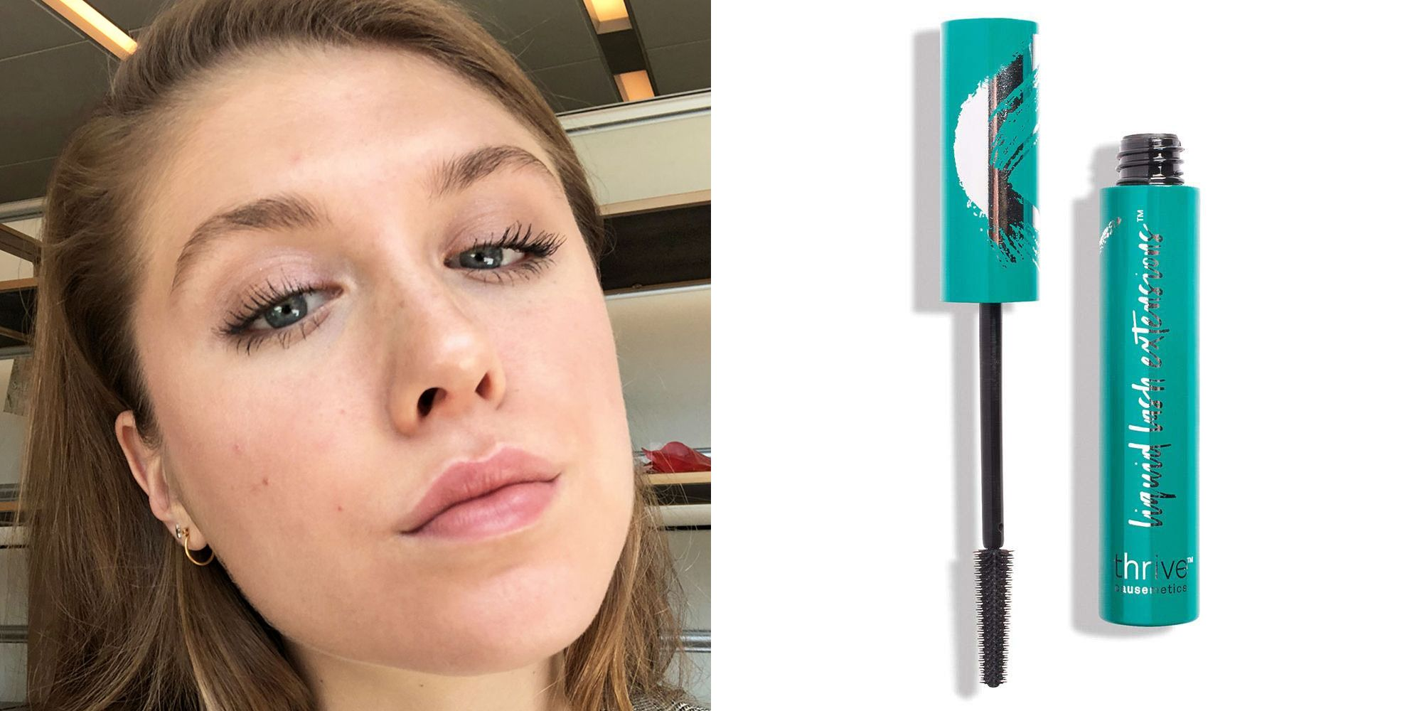 I Reviewed Thrive's Causemetics Mascara and the Pics Are Crazy