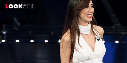 Virginia Raffaele look Sanremo 2019