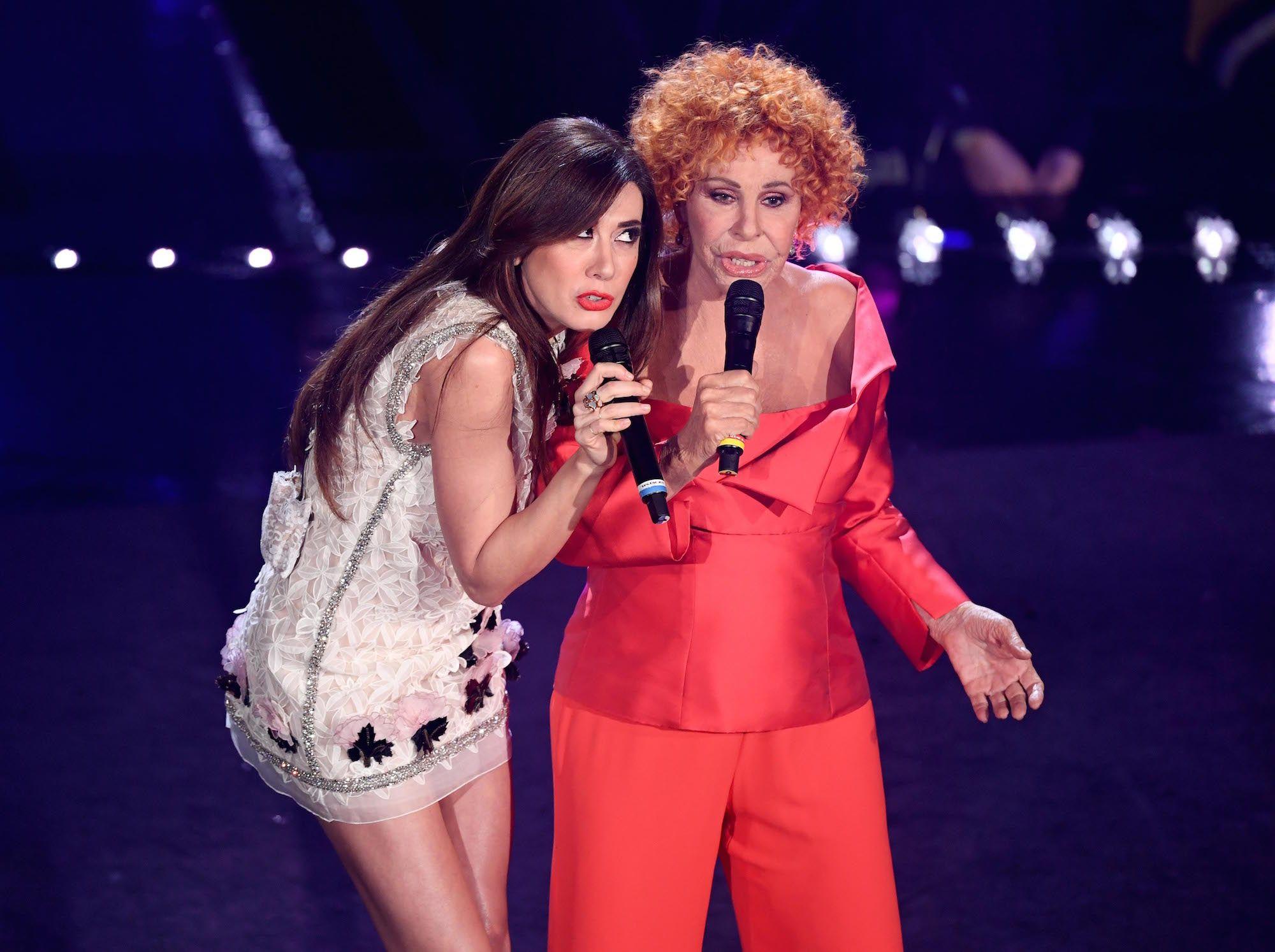 Virginia Raffaele, i vestiti terza serata di Sanremo 2019
