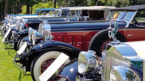 Gilmore Car Museum virtual car show top shot