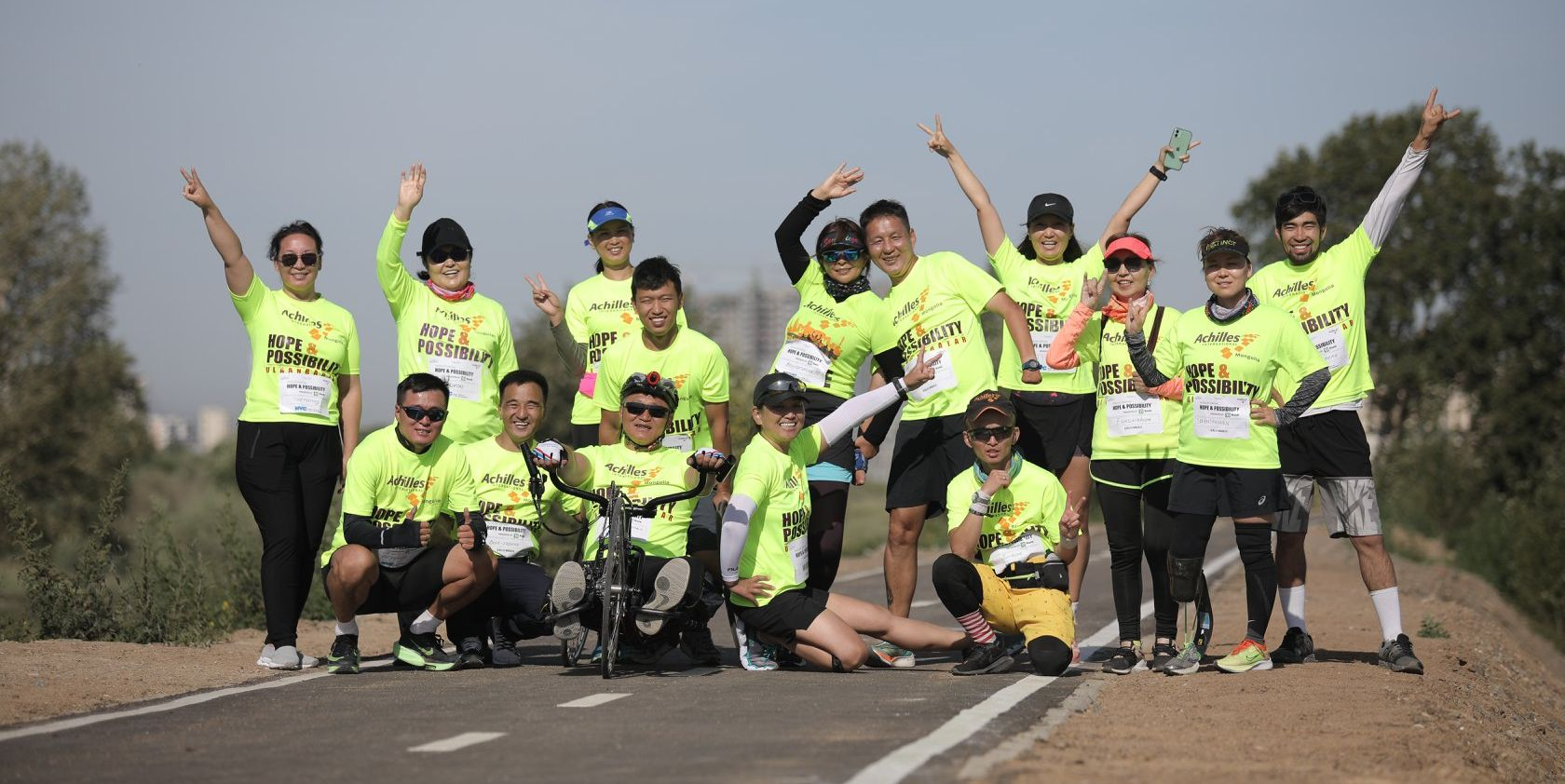 Achilles Mongolia Is Going All Out For Their Virtual NYC Marathon