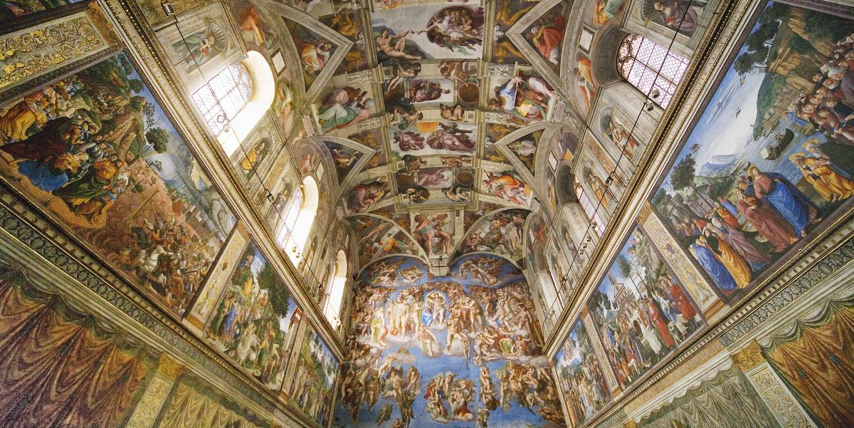 The Virtual Tour of the Sistine Chapel Is Absolutely Breathtaking