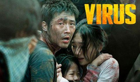 Imagen de la película 'Virus', de Netflix.