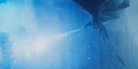 viserion s newly blue flames explained game of thrones season finale