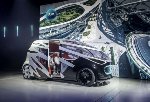 ベンツ コンセプトカー,  Vision URBANETIC,  ダイムラー, ビジョン, アーバネティック, 自律型車両, 完全自動運転車, デンマーク, コペンハーゲン, メルセデス・ベンツ, コンセプトカー