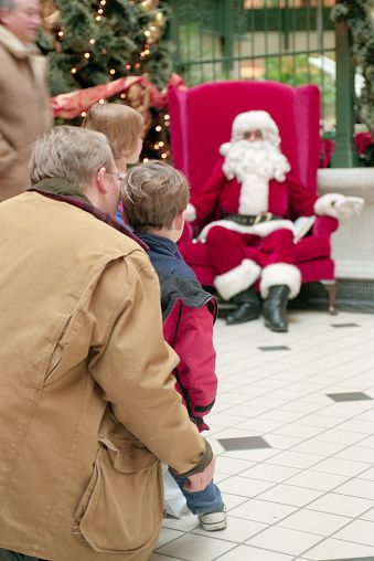 Christmas Activities for Kids Visiting Santa Claus