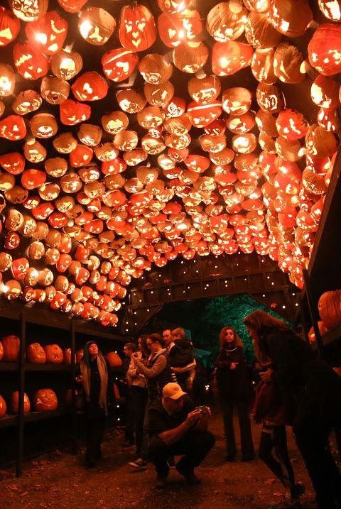The Great Jack O'Lantern Blaze in New York