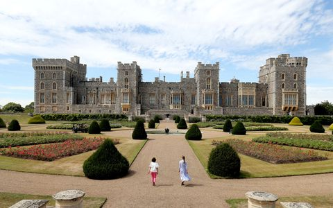 windsor castle's east terrace garden opens to the public   photocall